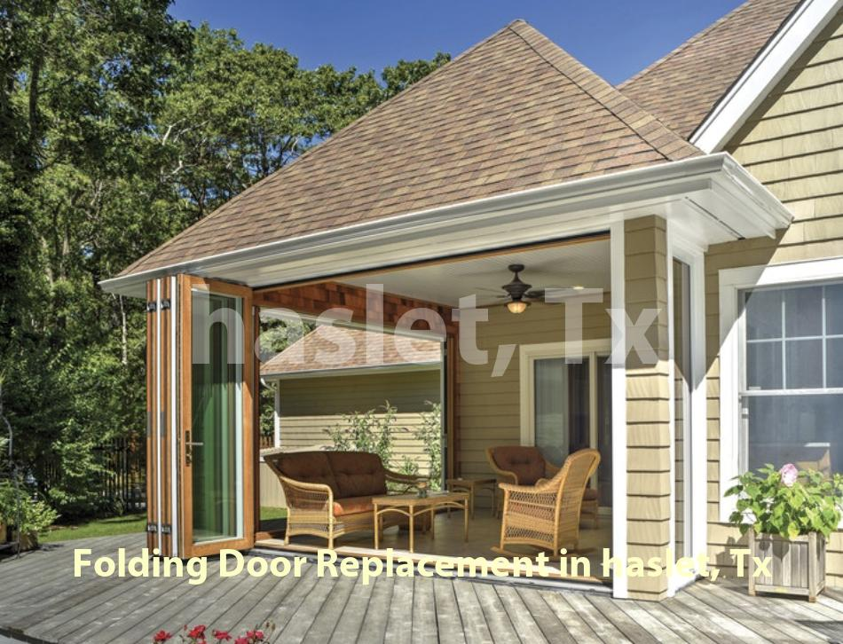 Folding Door Replacement - Haslet
