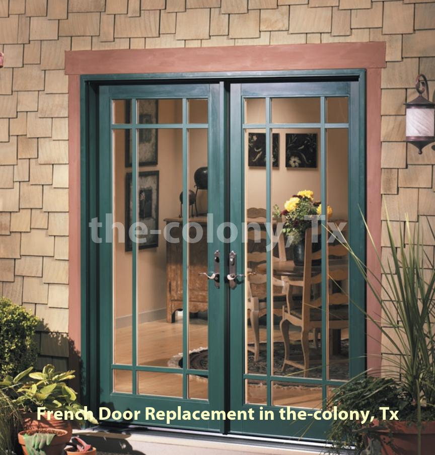 French Door Replacement - The Colony