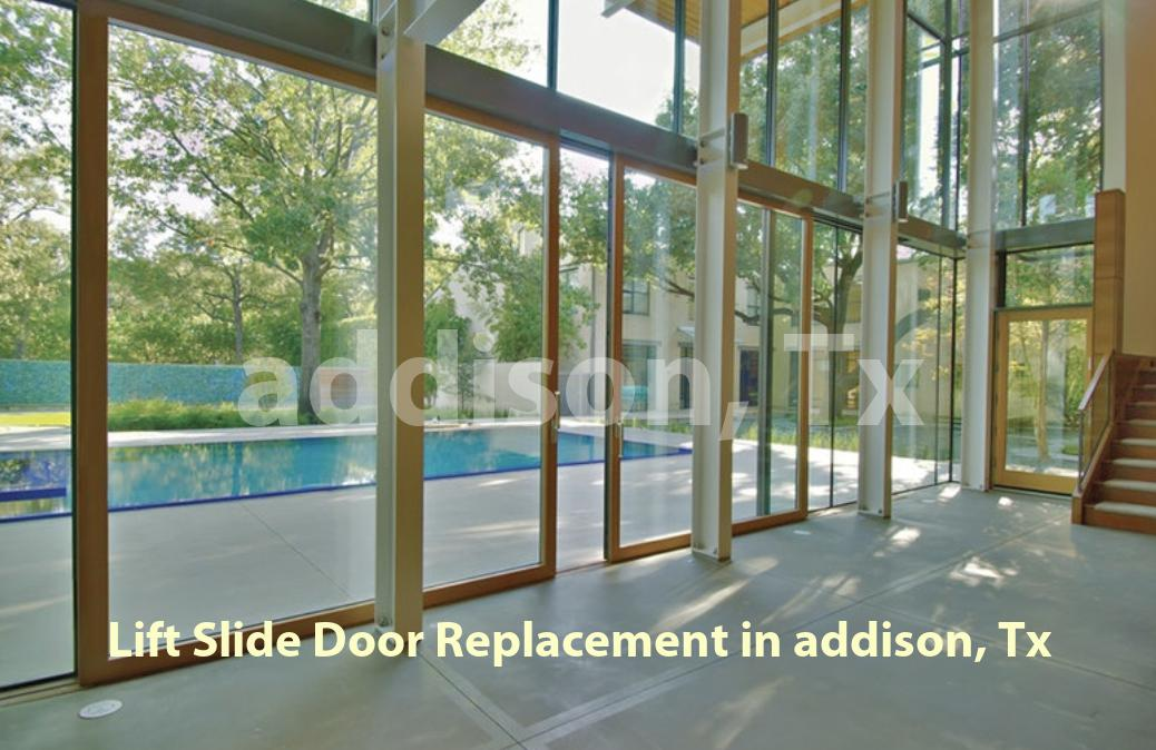 Lift Slide Door Replacement - Addison