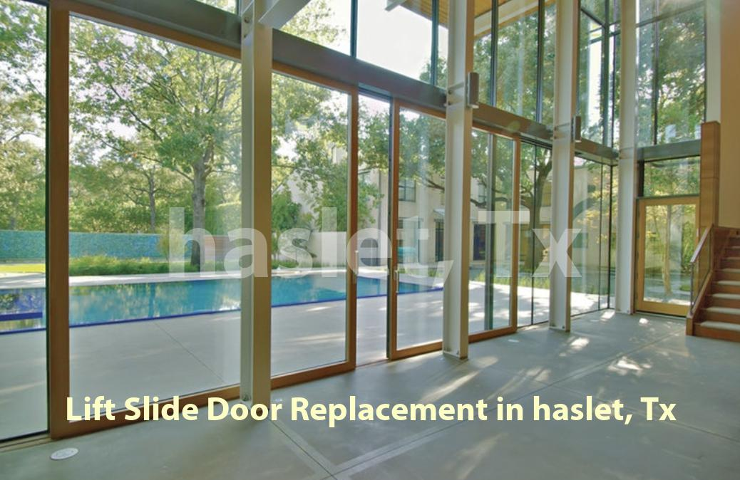 Lift Slide Door Replacement - Haslet