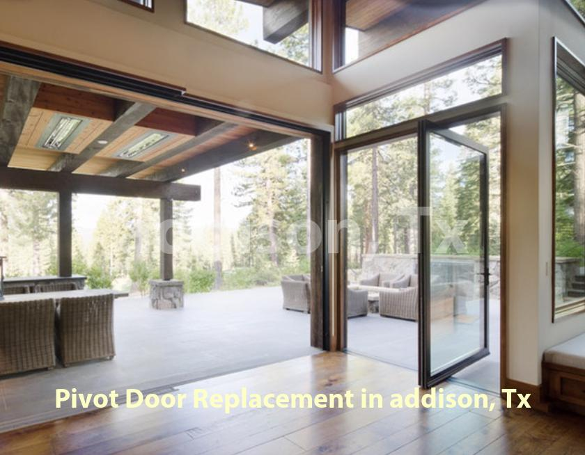 Pivot Door Replacement - Addison