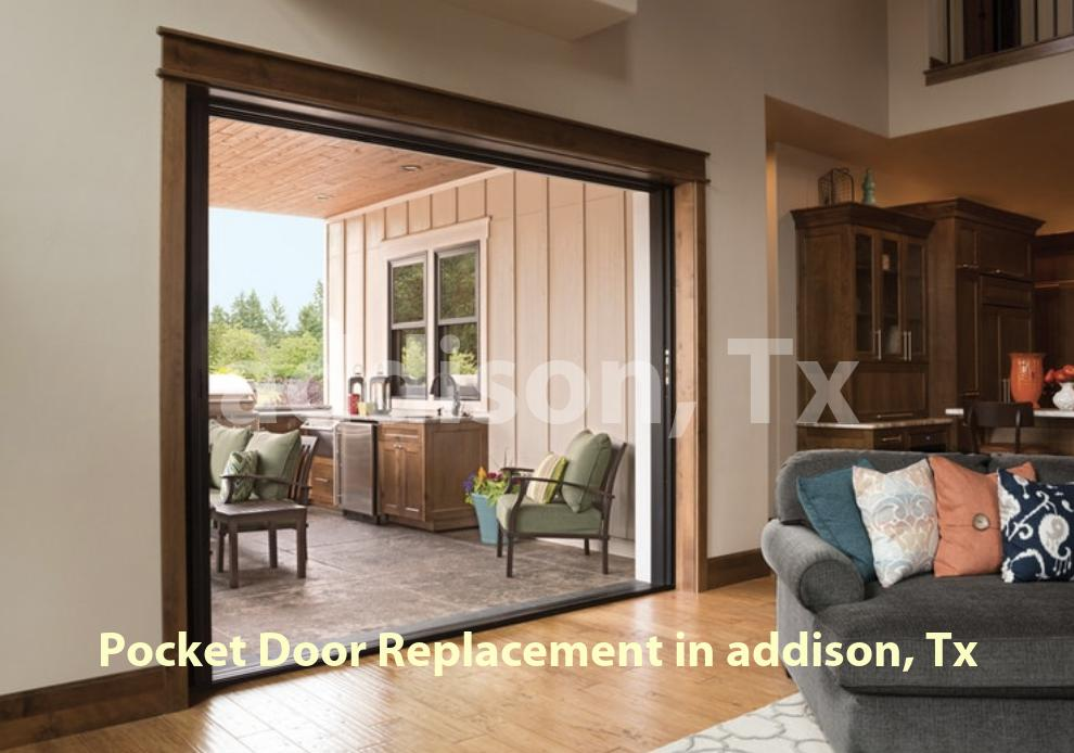 Pocket Door Replacement - Addison