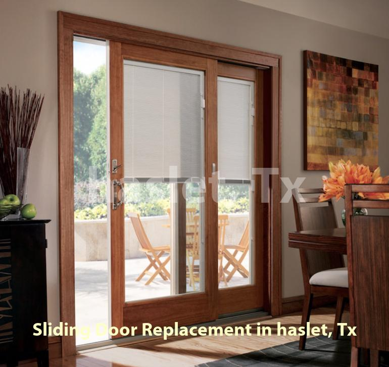 Sliding Door Replacement – Haslet