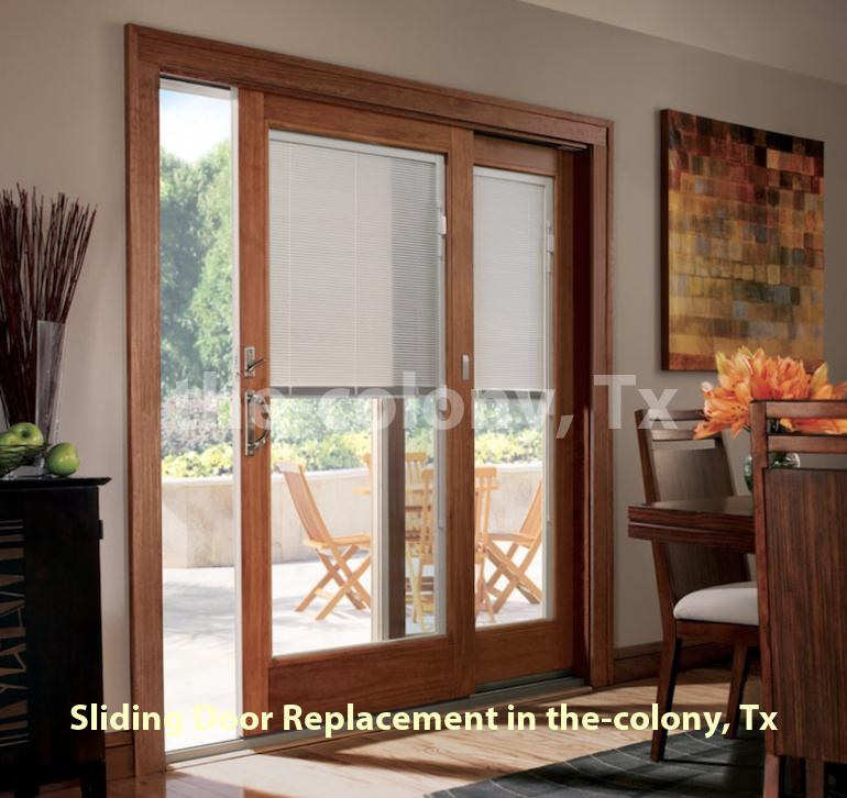 Sliding Door Replacement – The Colony