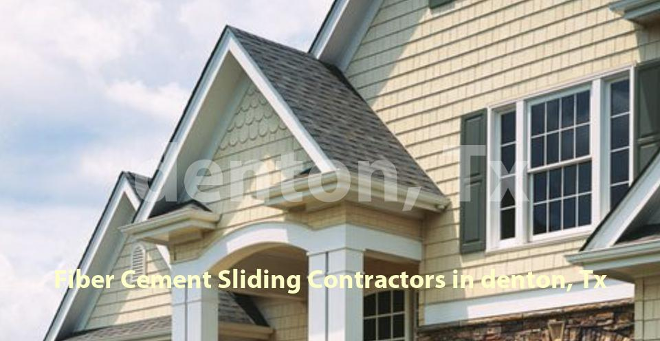 Fiber Cement Sliding - Denton