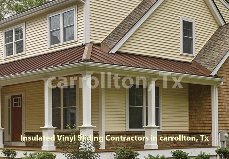 Insulated Vinyl Sliding - Carrollton