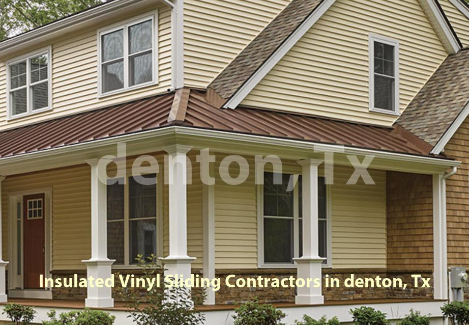 Insulated Vinyl Sliding - Denton