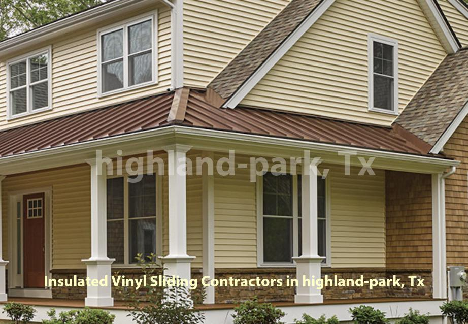 Insulated Vinyl Sliding - Highland Park