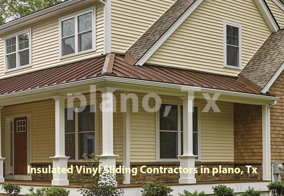 Insulated Vinyl Sliding - Plano