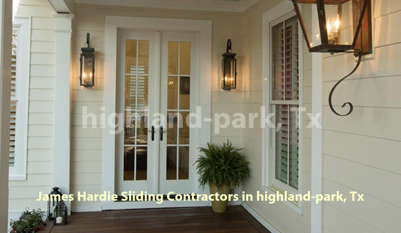 James Hardie Sliding Highland Park