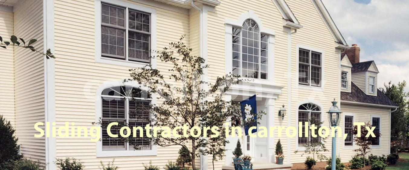 Sliding Contractors in Carrollton, TX