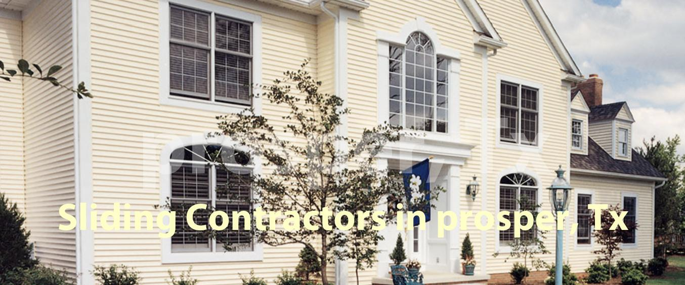 Sliding Contractors in Prosper, TX