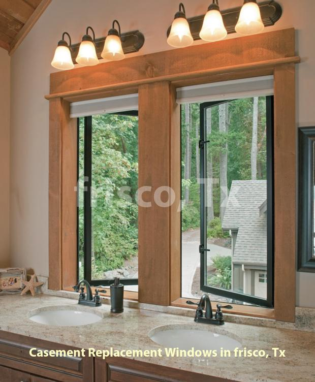 Casement Replacement Windows - Frisco