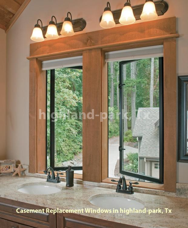 Casement Replacement Windows - Highland Park