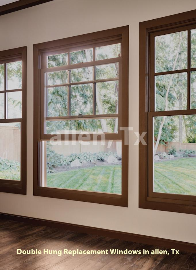 Double Hung Replacement Windows - Allen