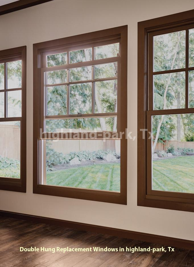 Double Hung Replacement Windows - Highland Park