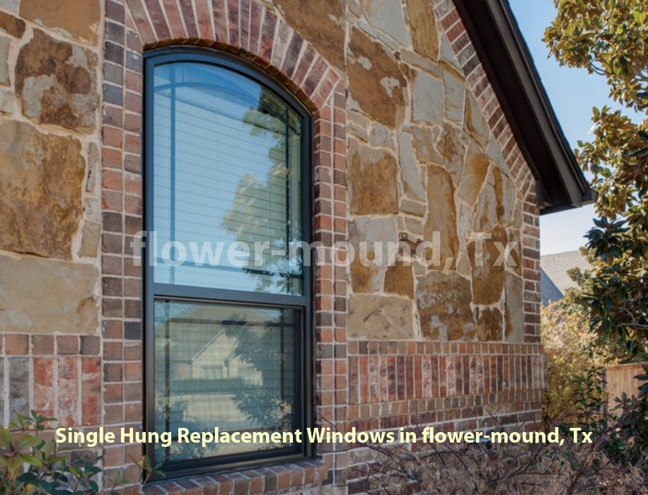 Single Hung Replacement Windows - Flower Mound
