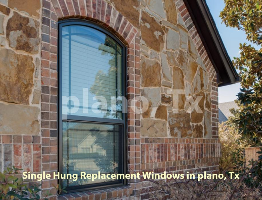 Single Hung Replacement Windows - Plano