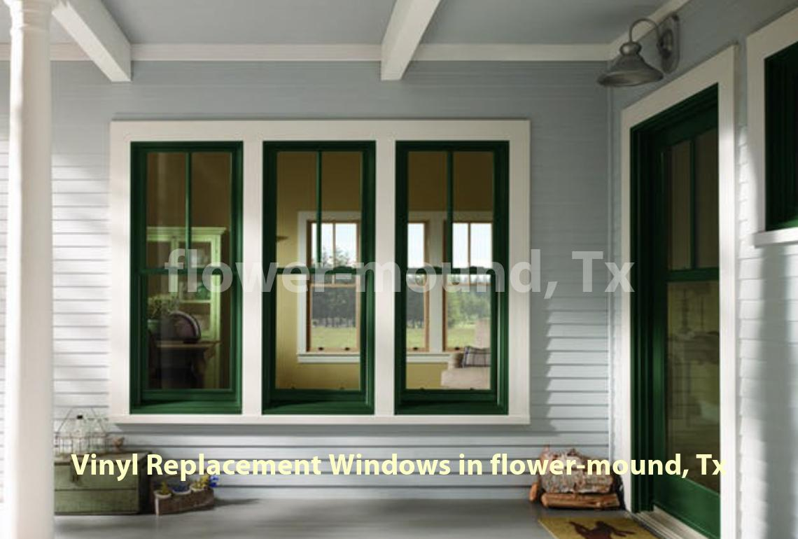 Vinyl Replacement Windows - Flower Mound